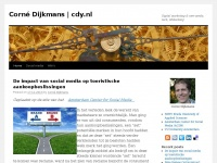 Corné Dijkmans | Online media, digital marketing, online customer engagement, social media sites