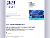Cemproductions.nl - CEM Welkom
