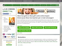 Livecardsdirect.nl - Xbox Live Gold, Xbox Giftcards & Microsoft Points-Live Cards Direct.nl