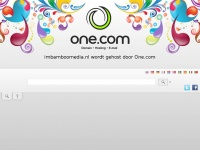 Imbamboomedia.nl - Hosted By One.com | Webhosting made simple