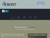 4frontinvestments.com - We Buy Fort Worth Houses Any Condition, A Trusted Property Buyer