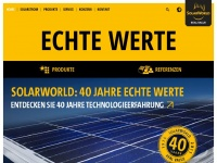Solarworld.ch - SolarWorld Schweiz : Home