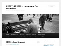 Kersthit2012.nl - KERSTHIT 2012 – Homepage for Homeless | de band One Gift maakt dé kersthit van 2012