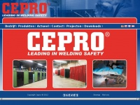 Cepro.eu - Homepage - Leading in welding safety