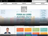 Cm-aveiro.pt - Câmara municipal de Aveiro- Página de entrada