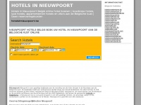 Hotelsinnieuwpoort.be - Nieuwpoort hotels Belgie hotel boeken: hotels in nieuwpoort