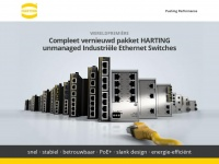Pushingperformance.be - HARTING Umanaged Industrial Ethernet Switches