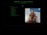 Websites vanJaap Adriani