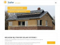 Stafier Solar Systems - Verbindt uw dak met de zon.