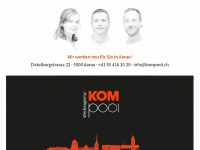 Kompool.ch - Werbeagentur Kompool in Aarau