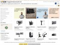 Supportsmurauxtv.fr, le spécialiste pour supports pour moniteur!