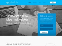 Appsketch - Apple iOS / iPhone / iPad Air schetsblok/schetsboek - Home