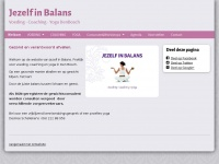 NIEUW - www.jezelfinbalans.nl