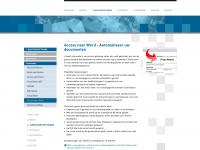 Access naar Word - Automatiseer uw documenten - Sybit | Software op Maat