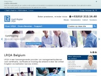 Lrqa.be - Lloyd's Register België | Certificatie | Training | Business Improvement Services | ISO 9001 | ISO 14001 | OHSAS 18001 | Lloyd's Register Belgium