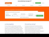 Lening vergelijken met Lening.com | Wij helpen u graag verder.