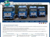 adejongtransport.nl