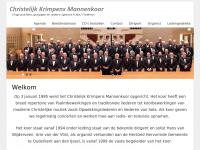 christelijkkrimpensmannenkoor.nl