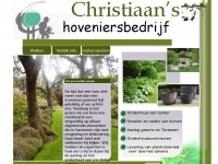 Christiaans-hoveniersbedrijf.nl - Christiaan's hoveniersbedrijf Assen
