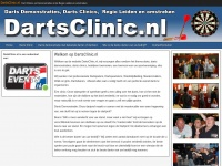 Dartsclinic.nl | Boek nu een dartsclinic met Barney!