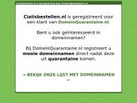 Cialisbestellen.nl - kopen en bestellen
