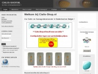 Cialis-shop.nl - Website is under construction