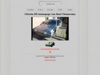 Citroën BX homepage van Roel Tiemersma