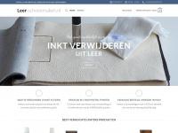 Leer-schoonmaken.nl - Leather Master website voor al uw onderhouds producten