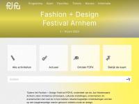 Fashion + Design Festival Arnhem | Start