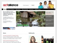 Actalliance.org - ACT Alliance – ACT Alliance is a coalition of 137 churches and faith-based organisations working together in over 100 countries.