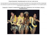 Slangen-bezweerder.nl - Slangen bezweerder, Jungle-themafeestjes, Burlesque shows, Jungle shows, meet en greet, fotos met gasten, slangen animatie