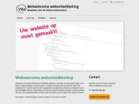 Webwiersma.nl - Webwiersma webontwikkeling - Webwiersma webontwikkeling