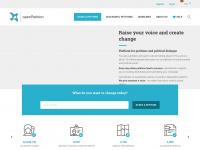 Openpetition.de - openPetition - burgerinitiatieven, online-petities, campagnes
