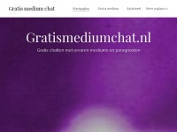 Gratismediumchat.nl - Gratis medium chat - Gratis chatten met online mediums en paragnosten!