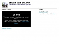 Erwanvanbuuren.nl - Cameraman & Steadicam operator | Erwan van Buuren