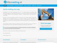 Klicmelding.nl - Uw klic-melding, onze zorg!