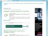 Dongguanweather.blogspot.nl - Dongguan, China, 10 day weather forecast