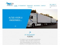 Fp-transport.nl - FP Transport | Flexibel transport in Tilburg