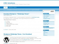 CMS Solutions | Wordpress Themes and Downloads