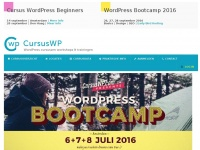 CursusWP.com | WordPress Cursussen, trainingen en workshops