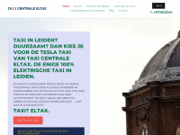 Taxi centrale Eltax - Uw taxicentrale voor Leiden. Uw Schipholtaxi voor heel Nederland. Nu ook met de 100% elektrische Premium Electric Tesla Model S.