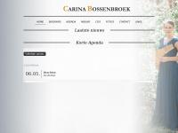 Carinabossenbroek.nl - Carina Bossenbroek Home