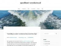speedboot-verzekeren.nl - Alles over varen en verzekeren