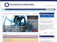 Cochrane | Trusted evidence. Informed decisions. Better health.