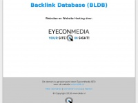 Backlink Database (BLDB) | bldb.nl