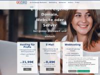 Goneo.de - Webhosting schneller dank SSD und sicherer mit SSL im Paket - goneo