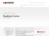 Combird.nl - Combird The Realtime Communication Company