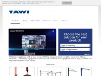 Tawi.co.uk - TAWI UK Ltd  is your complete source for ergonomic lifting solutions in Northampton