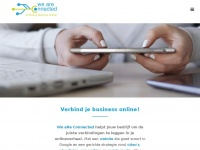 Weareconnected.be - We aRe Connected: Verbind je business online!