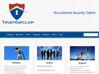 Teamsecure.nl - TeamSecure - Recruitment Security Talent